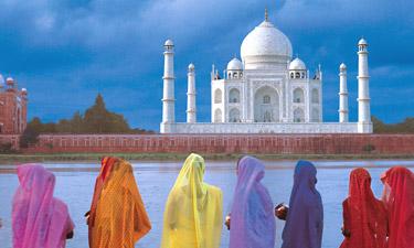 Indien Reisen Taj Mahal Agra