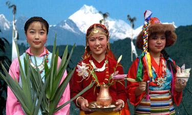 Indien Reisen Sikkim Darjeeling
